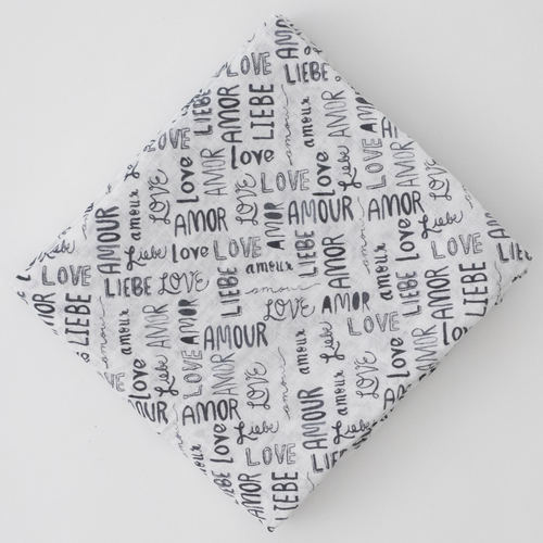 Muslin Swaddle, Love Languages