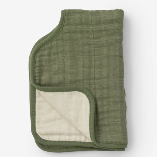Muslin Burp Cloth, Fern