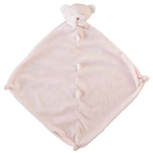 Pink Bear Security Blankie