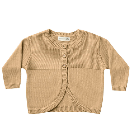 Knit Cardigan, Honey