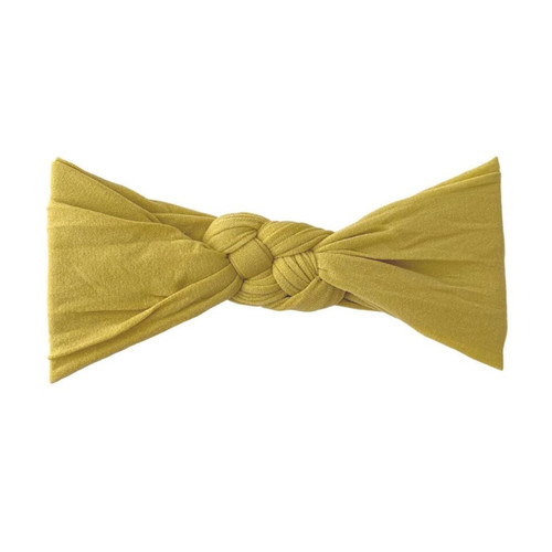 Sailor Knot Bow, Mustard