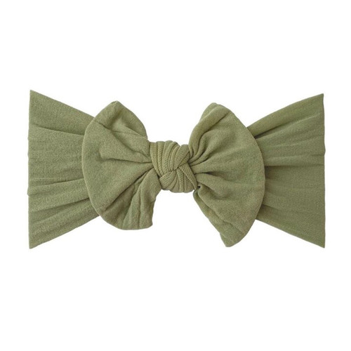Classic Knot Bow, Sage
