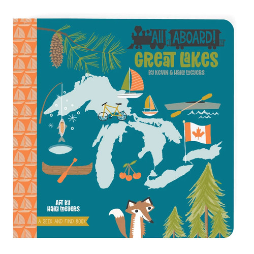 All Aboard Great Lakes: A Seek & Find Book