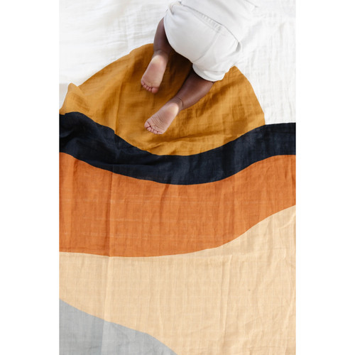 Sunset Muslin Swaddle
