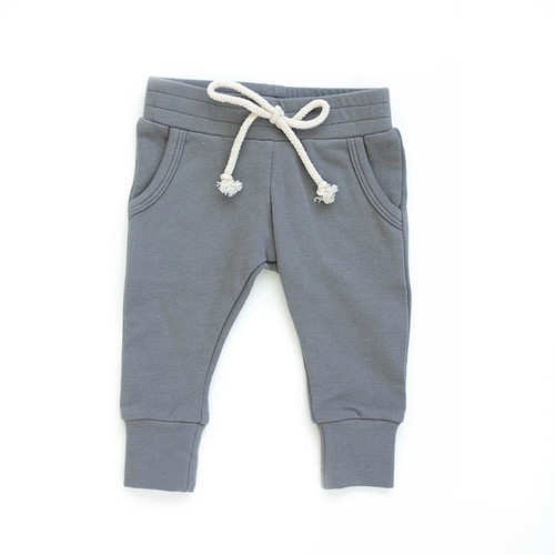 French Terry Joggers, Slate