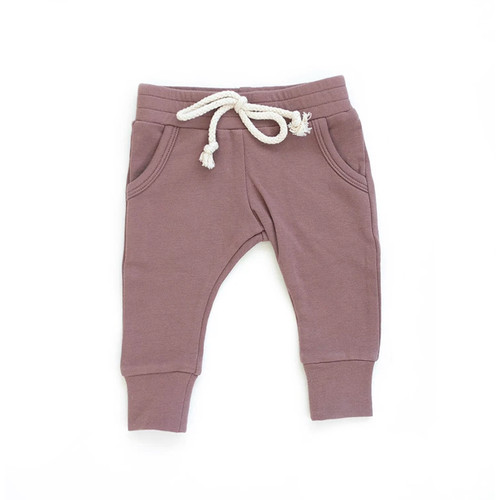 French Terry Joggers, Rose