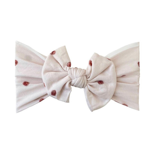 Classic Knot Bow, Pearl