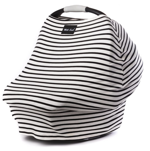 Milk Snob Car Seat Cover Milky Stripe