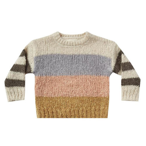 Rylee & Cru Aspen Sweater, Multi Color Stripe