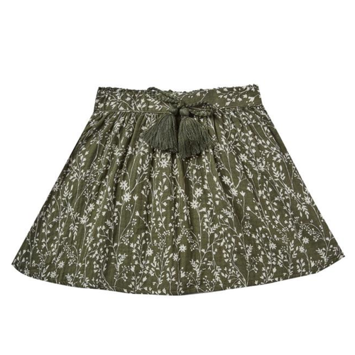 Rylee & Cru Mini Skirt, Vines
