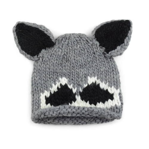 Knit Hat, Raccoon