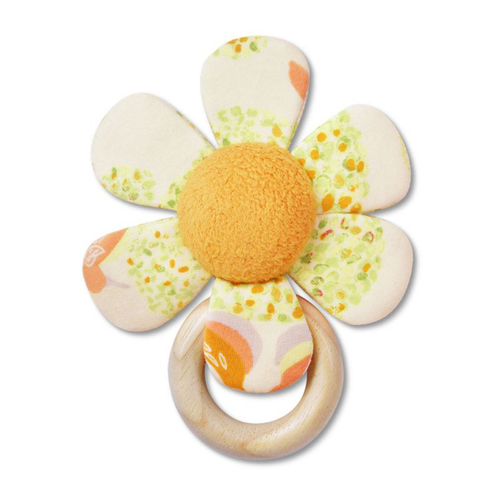 Teething Flower Rattle, Cloud Tree