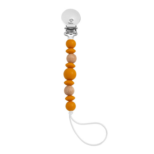 Luna Pacifier Clip, Sunflower