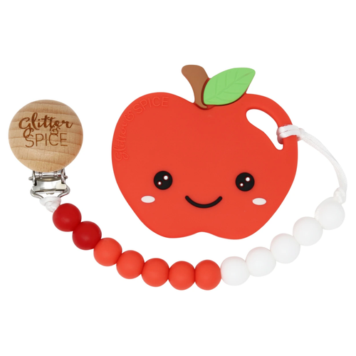 Apple Teether & Clip Set