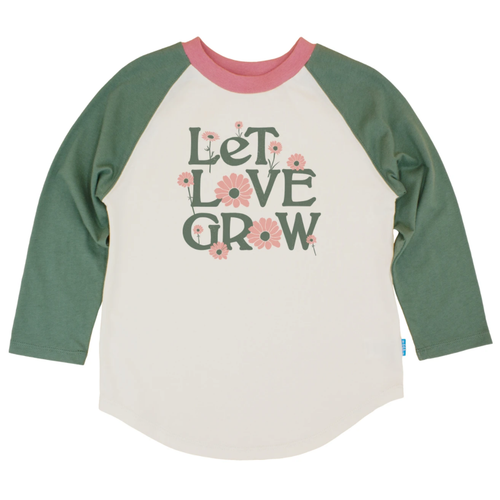 Vintage LS Tee, Let Love Grow
