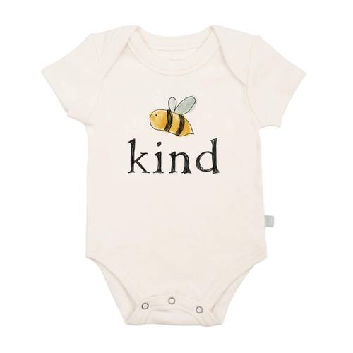 Graphic Bodysuit, Bee Kind