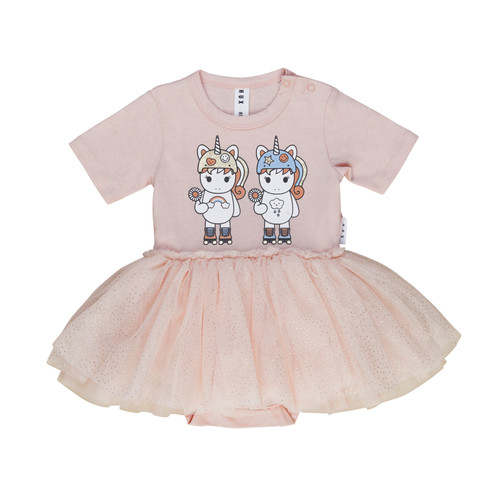 Ballet Skirted Bodysuit, Roller Twins