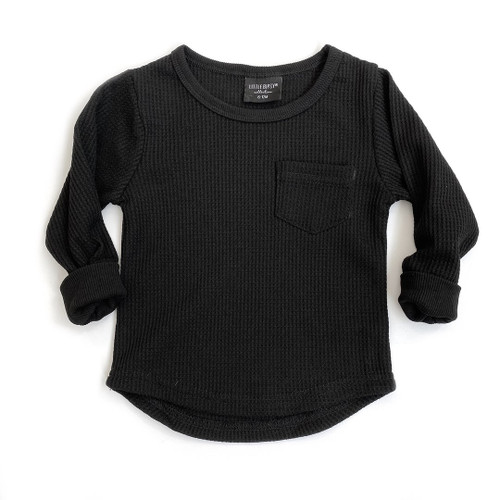 Thermal Pullover, Black
