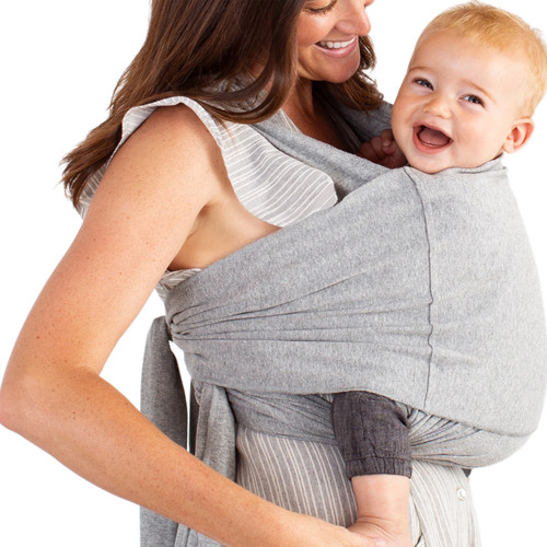 Moby Fit Hybrid Carrier, Heathered Grey