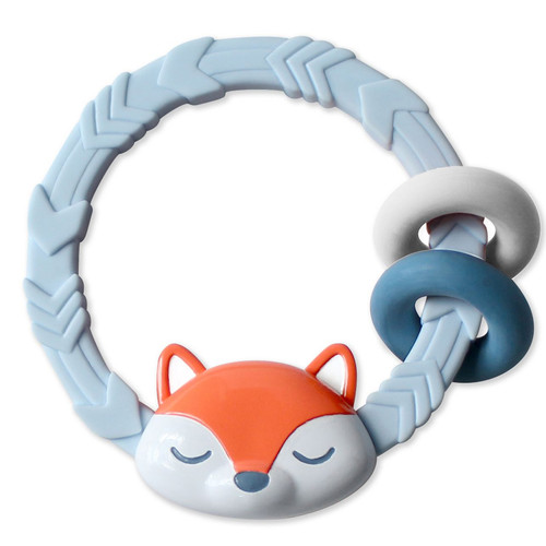 Ritzy Teething Rattle, Fox