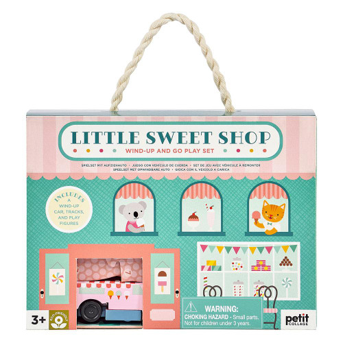 Wind Up & Go Play Set, Little Sweet Shop