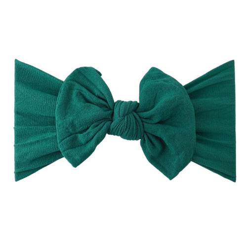 Classic Knot Bow, Hunter Green