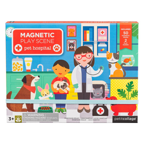Magnetic Play Scene, Pet Hospital