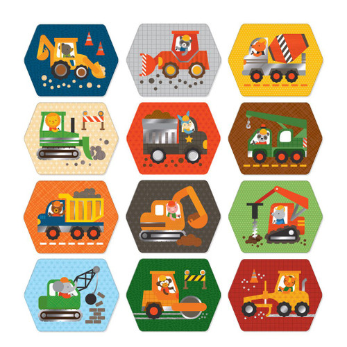 Memory Game, Construction