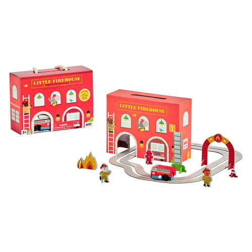 Wind Up & Go Playset, Fire Station