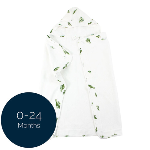 Baby Hooded Towel, Saguaro