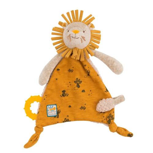 Yellow Lion Pacifier Lovey