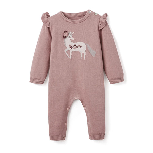 Knit Jumpsuit, Unicorn