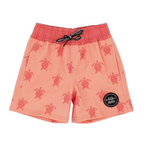 Honu Boardshort, Coral Crush