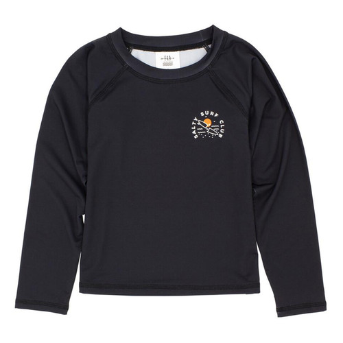 Long Sleeve Rash Top, Salty Surf Club