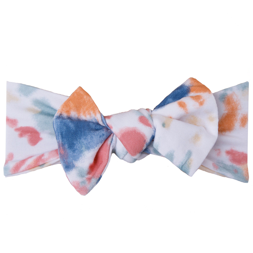 Knot Bow, Canyon Haze Ray Tie Dye