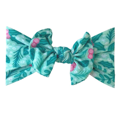 Classic Knot Bow, Holly