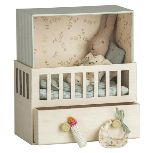 Bunny Rabbit Baby Room Playset, Blue