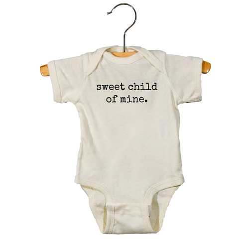 Graphic Bodysuit, Sweet Child Of Mine