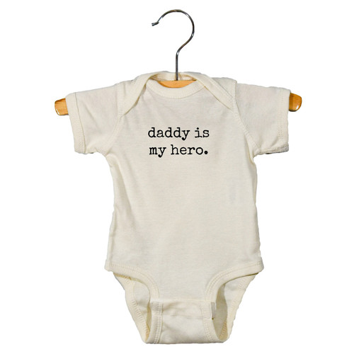 Graphic Bodysuit, Daddy Is My Hero