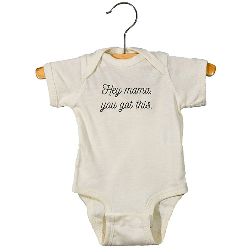 Graphic Bodysuit, Hey Mama You Got This