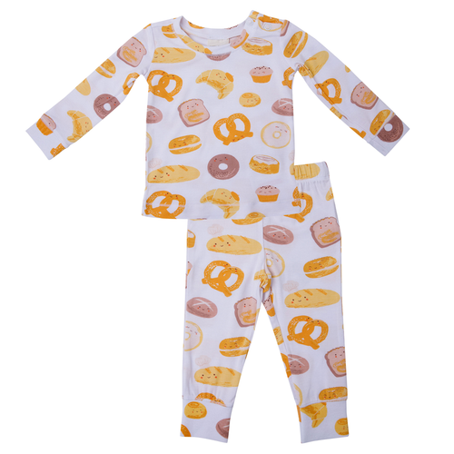 2-Piece Lounge Wear Set, Bakery Buddies
