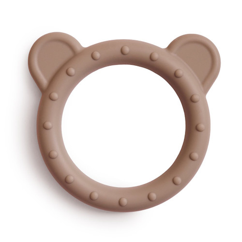 Silicone Bear Teether, Natural