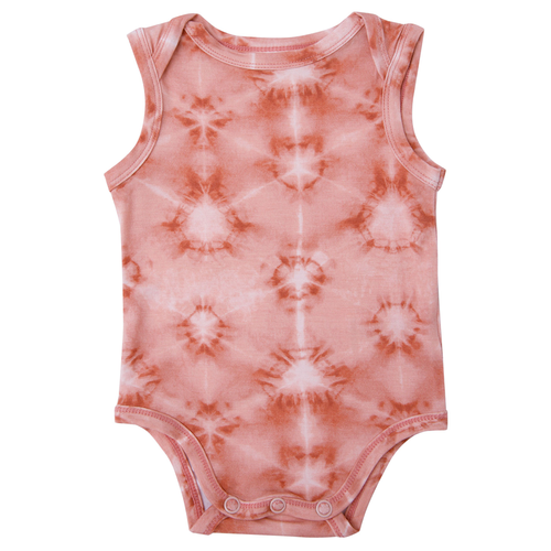 Sleeveless Bodysuit, Southwest Shibori