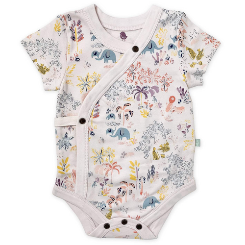 Short Sleeve Bodysuit, Savanna
