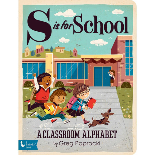 S is for School Board Book