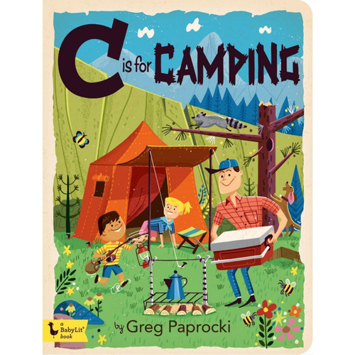 C is for Camping Board Book