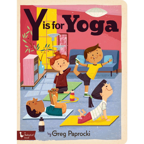 Y is for Yoga Board Book