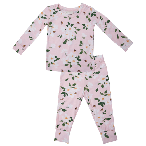 2-Piece Lounge Wear Set, Magnolia
