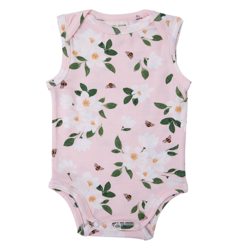 Sleeveless Bodysuit, Magnolia