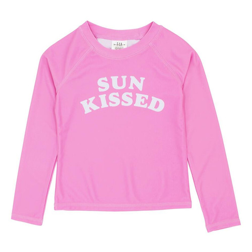Long Sleeve Rash Top, Sun Kissed